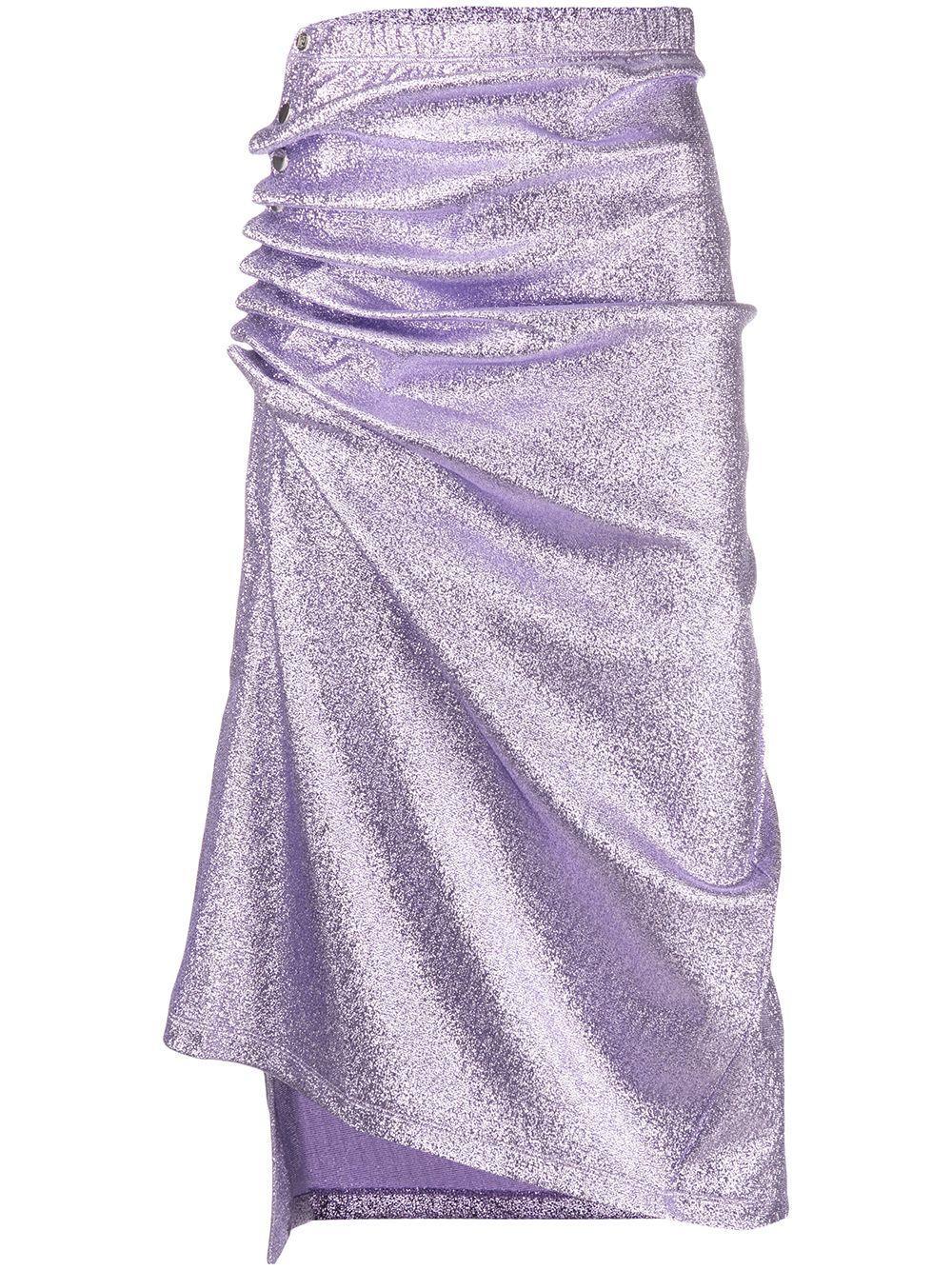 Paco Rabanne юбка со сборками