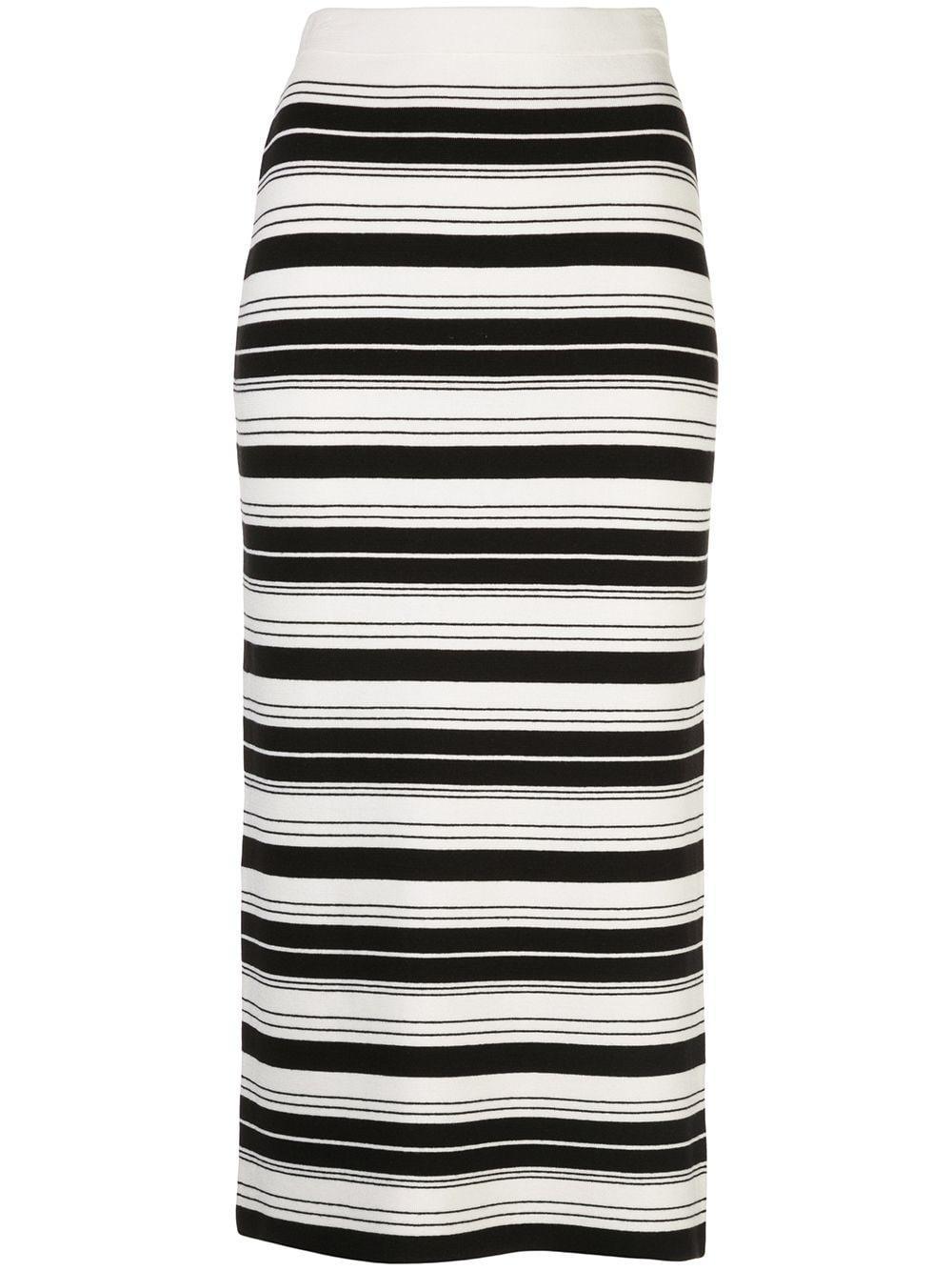Proenza Schouler White Label юбка-карандаш в полоску