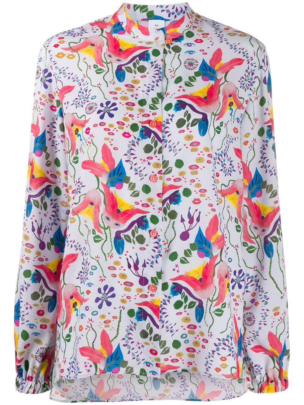 PS Paul Smith floral print shirt