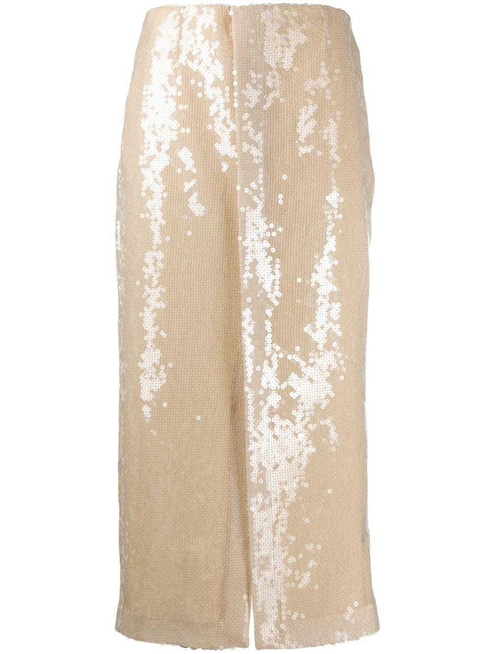 Roland Mouret Nobel sequinned skirt