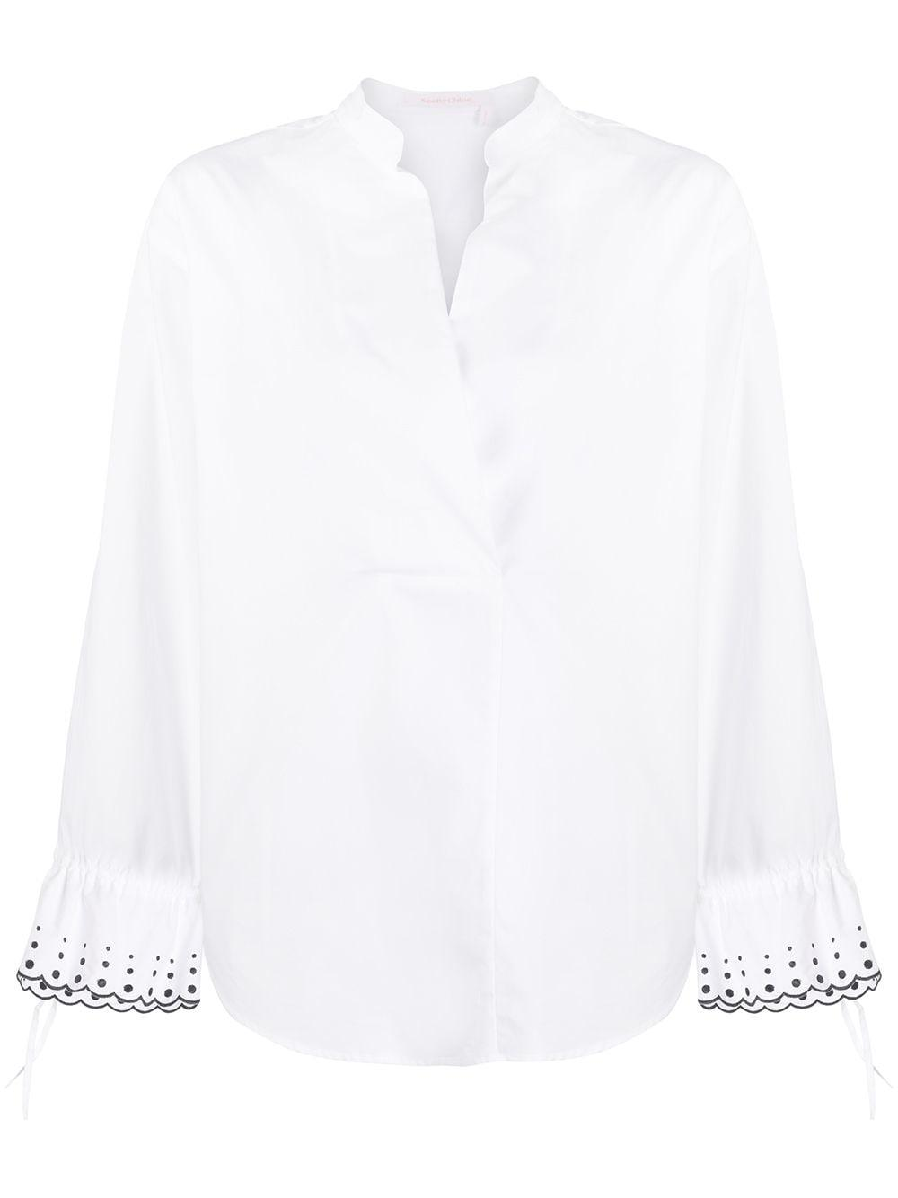 See By Chloé dotted cuffs blouse