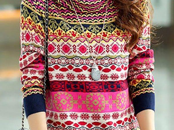 Вязаный свитер осень/зима 2019-2020 1154732