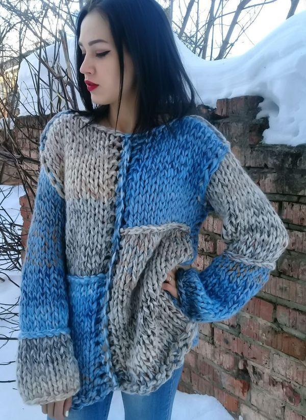 Вязаный свитер осень/зима 2019-2020 1268639
