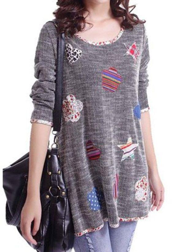 Вязаный свитер осень/зима 2019-2020 1272638