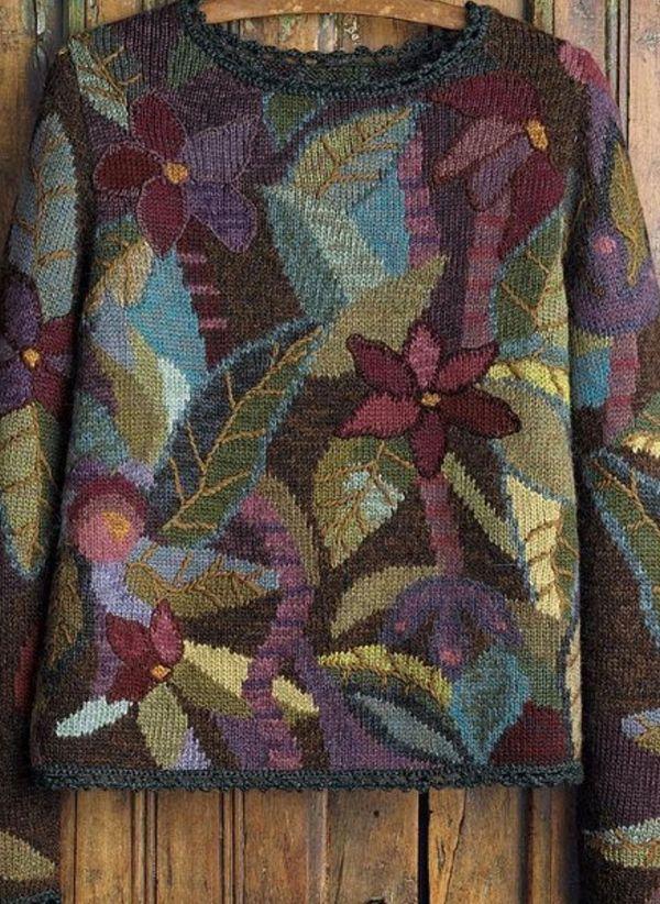 Вязаный свитер осень/зима 2019-2020 1364816