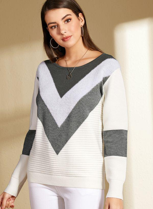 Вязаный свитер осень/зима 2019-2020 1370162