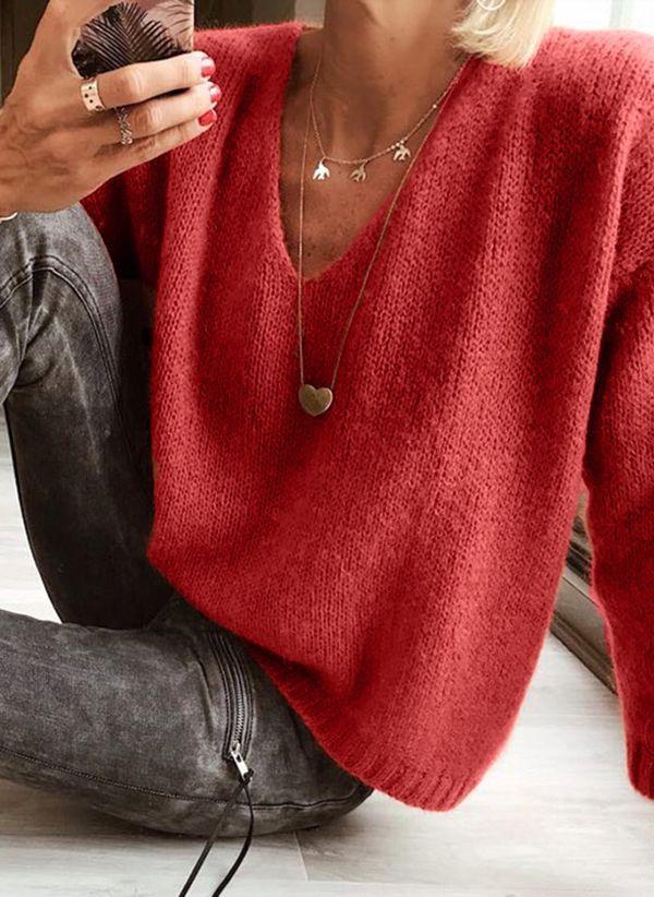 Вязаный свитер осень/зима 2019-2020 1396582