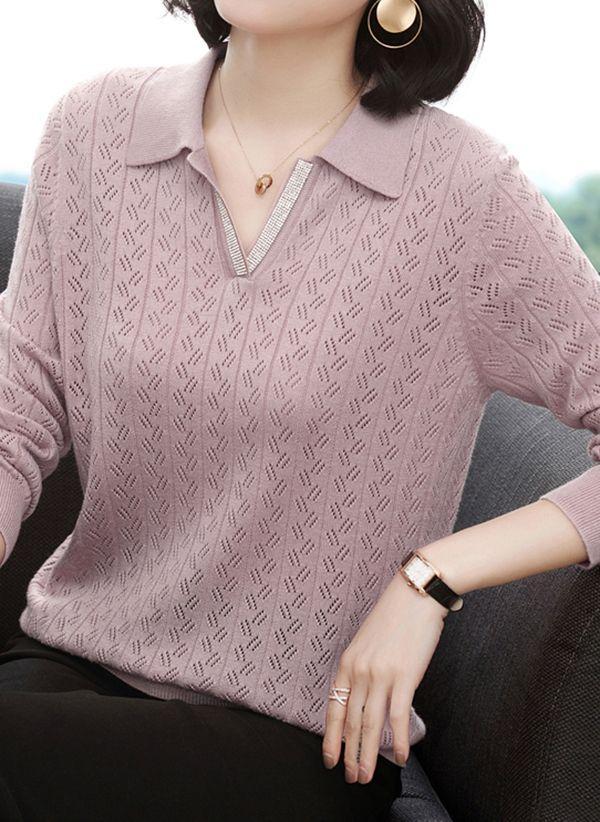 Вязаный свитер осень/зима 2019-2020 1432917