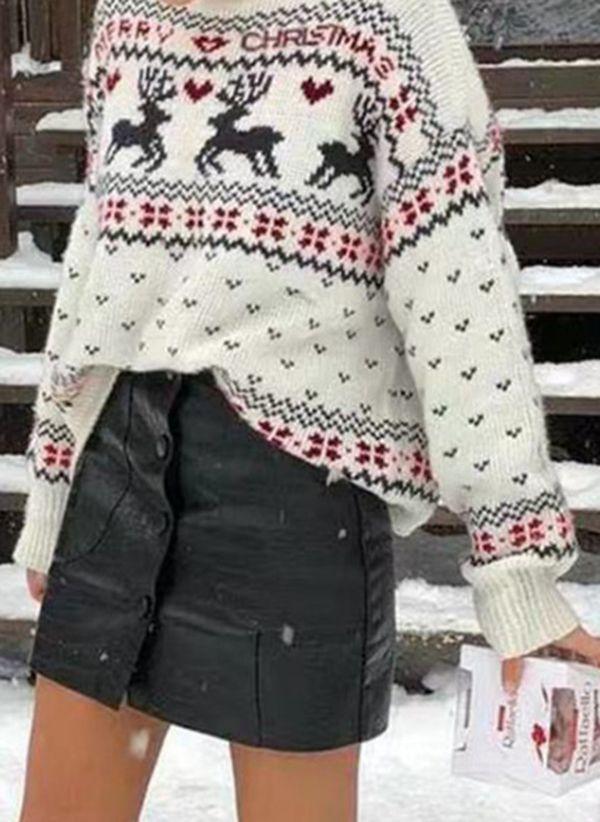Вязаный свитер осень/зима 2019-2020 1440194