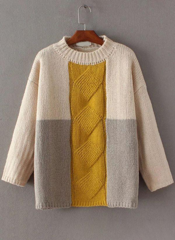 Вязаный свитер осень/зима 2019-2020 1442923