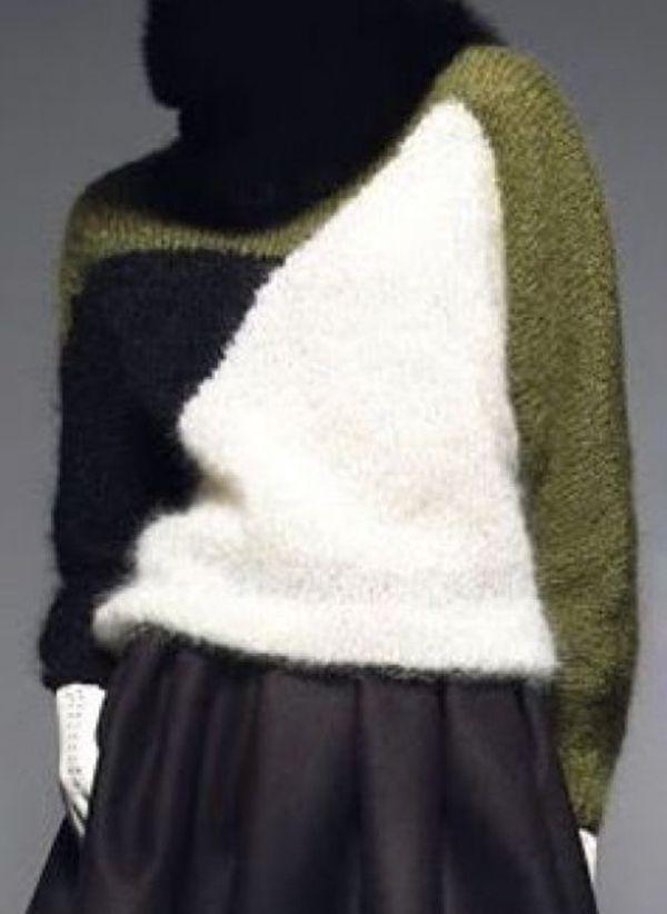 Вязаный свитер осень/зима 2019-2020 1444847