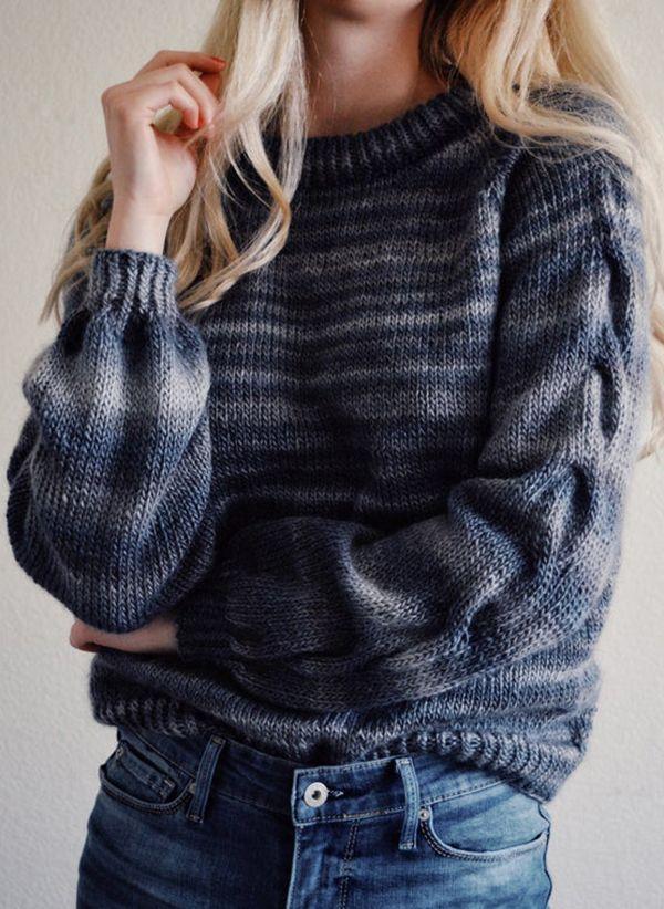 Вязаный свитер осень/зима 2019-2020 1444896