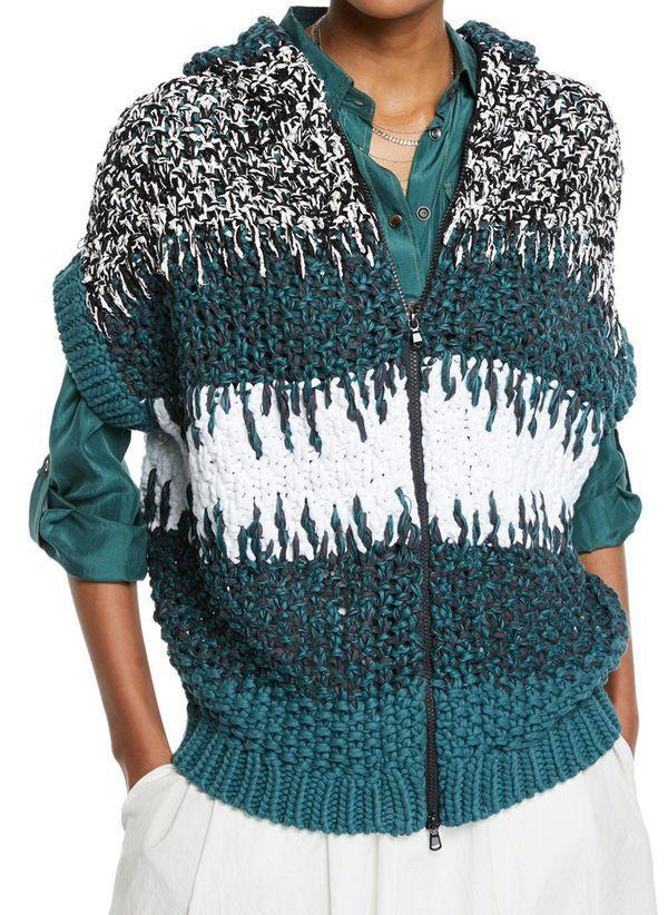 Вязаный свитер осень/зима 2019-2020 1444976