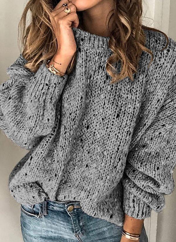 Вязаный свитер осень/зима 2019-2020 1451786