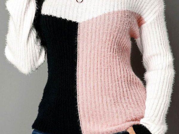 Вязаный свитер осень/зима 2019-2020 1476708