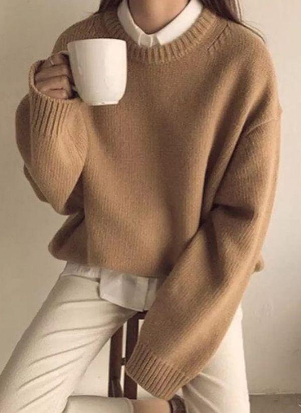 Вязаный свитер осень/зима 2019-2020 1476710