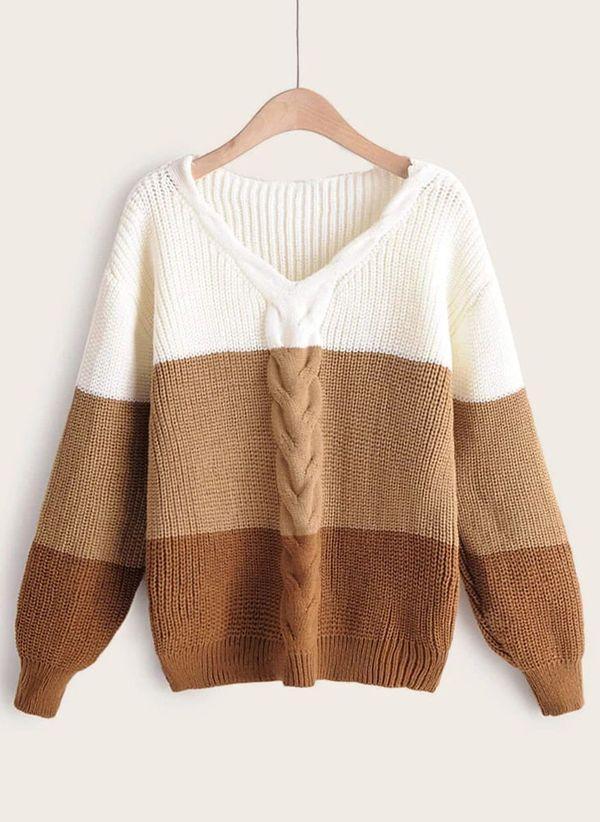 Вязаный свитер осень/зима 2019-2020 1476712