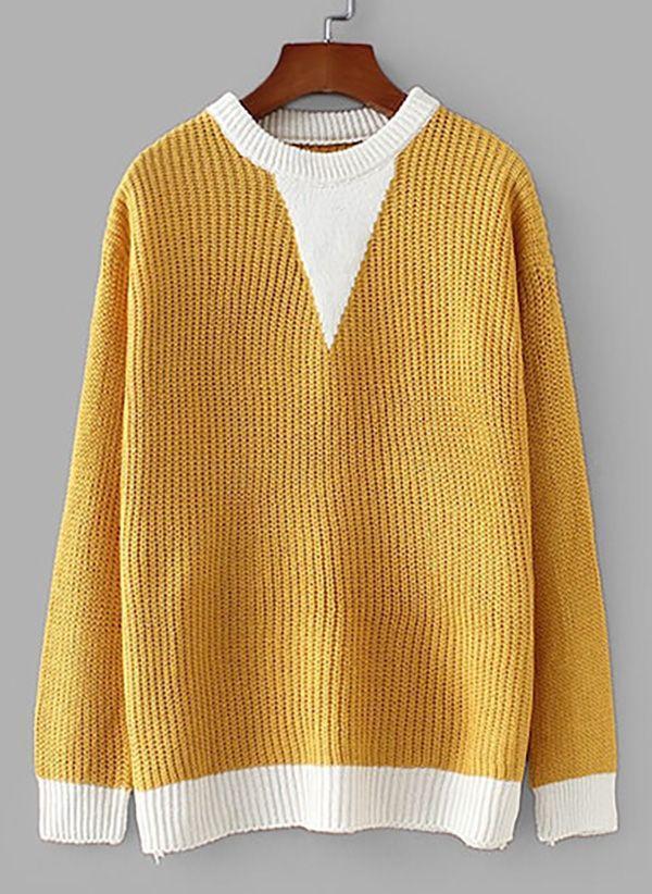Вязаный свитер осень/зима 2019-2020 1476713
